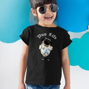 Pug Life - 2PUG Unisex Youth Kids T-Shirt