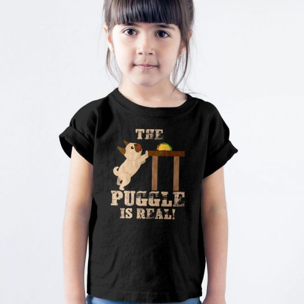 Puggle - The Puggle Is Real Unisex Youth Kids T-Shirt