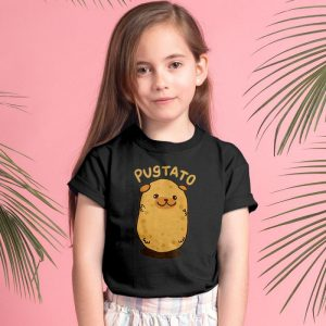 Pugtato - Pug Potato Mashup Unisex Youth Kids T-Shirt