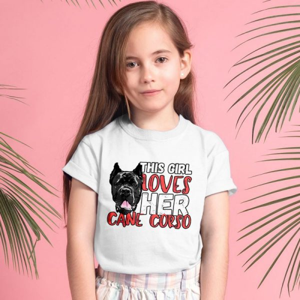 This Girl Loves Her Cane Corso