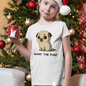What The Pug Unisex Youth Kids T-Shirt