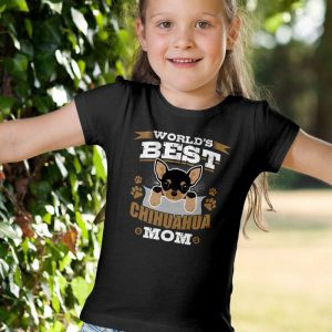 World's Best Chihuahua Mom Unisex Youth Kids T-Shirt