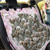 A Lot Of Labrador Puppies Design Car Back Seat Cover Dog Car Seat Covers