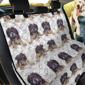 Affenpinscher Patterns Theme Car Back Seat Cover Dog Car Seat Covers