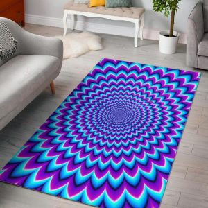 Blue Expansion Moving Optical Illusion Gs-cl-ld1704 Rug Sport Decor Gift Floor Decor Living Room Carpet Rug Area RugThe Best Rug Area New 230662