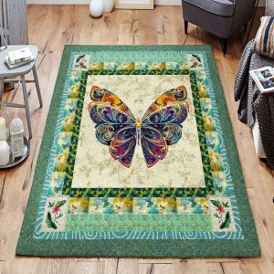 Butterfly 4 Gs-cna1109 Rug Sport Decor Gift Floor Decor Living Room Carpet Rug Area RugBeautiful Rug Area New 235839