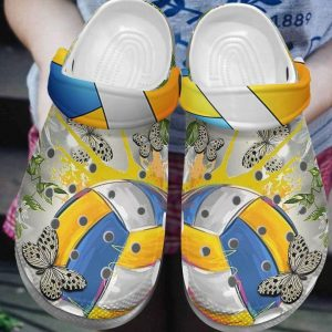 Butterfly Croc Clog Unisex Fashion Style For Women