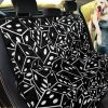 Casino Dice On Black Car Back Seat Cover Dog Car Seat Covers