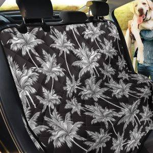 Classic Palm Tree Pattern Design Car Back Seat Cover Dog Car Seat Covers