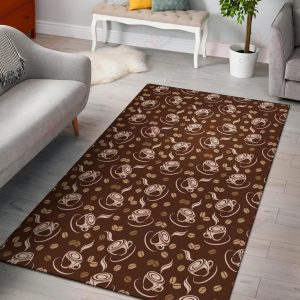 Coffee Pattern 3 Gs-cl-dt1405 Rug Sport Decor Gift Floor Decor Living Room Carpet Rug Area RugNew Style Rug Area New 246546