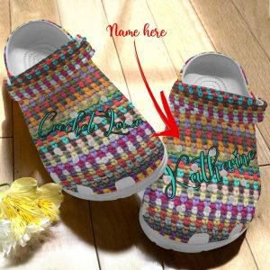 Crochet Personalized Personalize Clog
