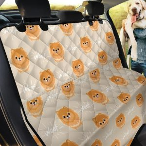 Domestic Animal Pomeranians Car Back Seat Cover Dog Car Seat Covers