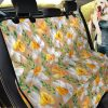 Full Blooming Daffodils Design Car Back Seat Cover Dog Car Seat Covers