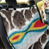 Funny Rex Guinea Pig Car Back Seat Cover Dog Car Seat Covers