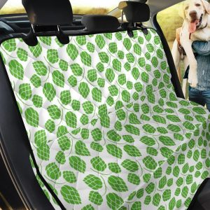 Hop Pattern Print Car Back Seat Cover Dog Car Seat Covers