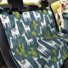 Into The Culture Of Mexican Llama Cactus Car Back Seat Cover Dog Car Seat Covers