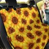 Into The Nature Sunflower Car Back Seat Cover Dog Car Seat Covers
