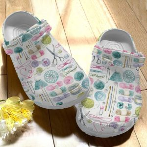 Knitting Personalize Clog