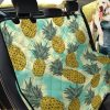 Live Like A Pineapple Summer Time Car Back Seat Cover Dog Car Seat Covers