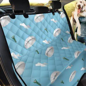 Love Extreme Sport Paratrooper Car Back Seat Cover Dog Car Seat Covers