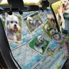 Natural Beauty Dandie Dinmont Terrier Car Back Seat Cover Dog Car Seat Covers