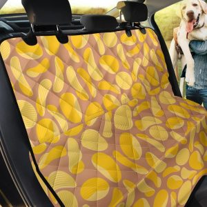 Potato Chip Pattern Car Back Seat Cover Dog Car Seat Covers