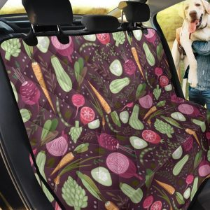 Realistic Style Vegan Car Back Seat Cover Dog Car Seat Covers