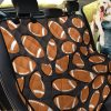 Rugby Ball American Football Car Back Seat Cover Dog Car Seat Covers