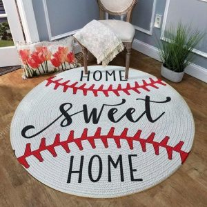 Seweet Home Gs-cl-kc0207 Round Carpet Floor Rug Sport Decor Gift Floor Decor Living Room Carpet Rug Area RugBeautiful Round Rug 302005