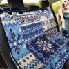 Texture Of Nordic Car Back Seat Cover Dog Car Seat Covers