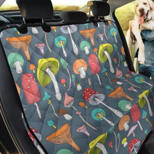 The Diversity Of Mushroom Car Back Seat Cover Dog Car Seat Covers
